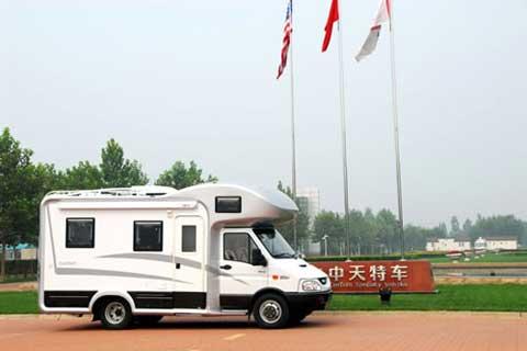 中天之星季风tc5045xlj c型房车高清图片