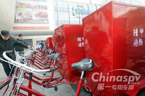 天津社区配备消防专用车