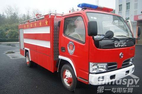 攸县喜添水罐消防车 部队装备上新台阶