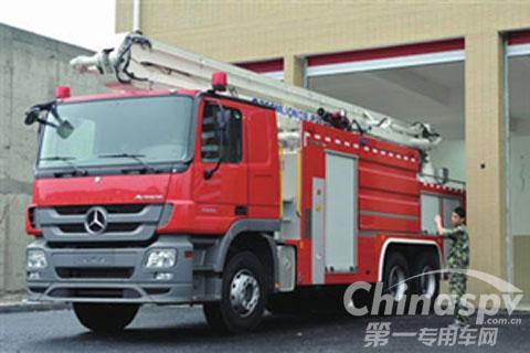从德国进口的消防车
