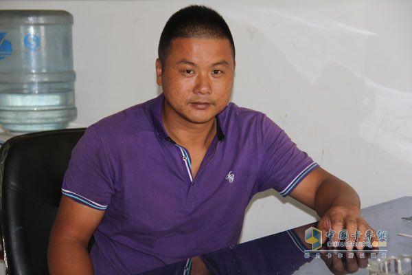 南京丰安科技负责车队管理的王兵队长