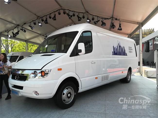 长江V08S纯电动物流车