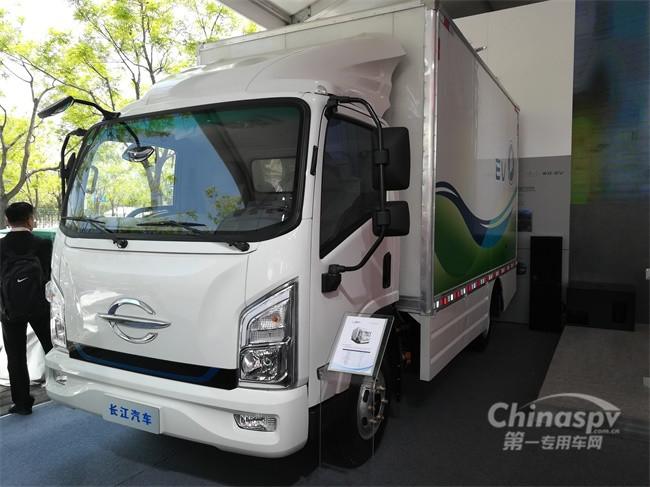 长江SM07纯电动物流车
