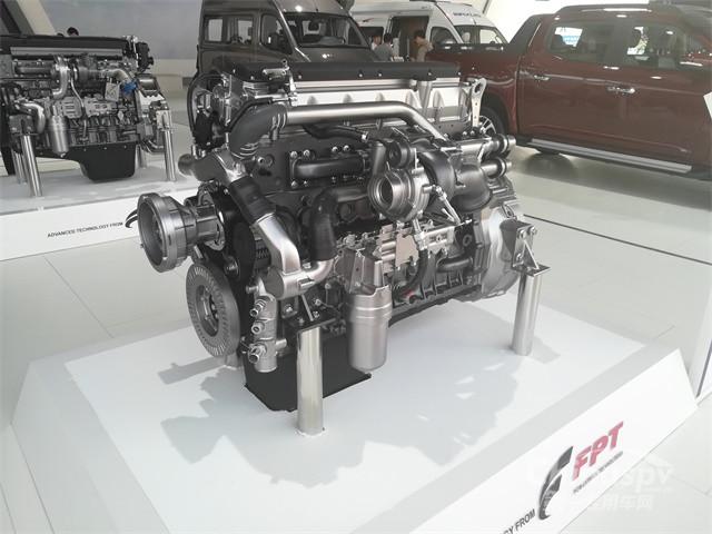 2018北京车展菲亚特Cursor 9天然气发动机(Cursor 9 NG)