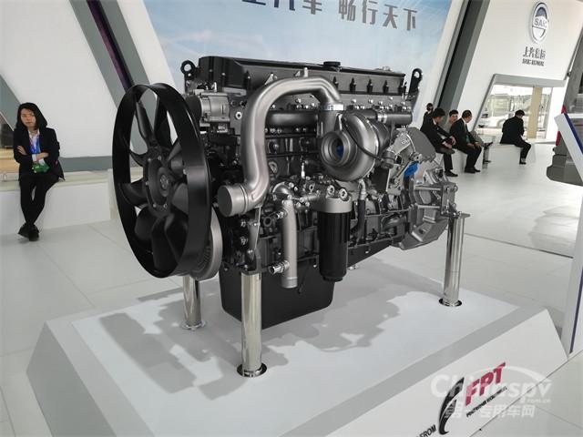 2018北京车展菲亚特Cursor 13国六发动机