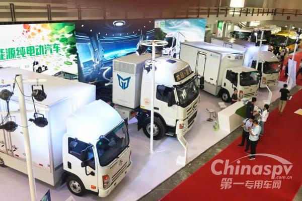 大运汽车全系纯电动产品亮相北京