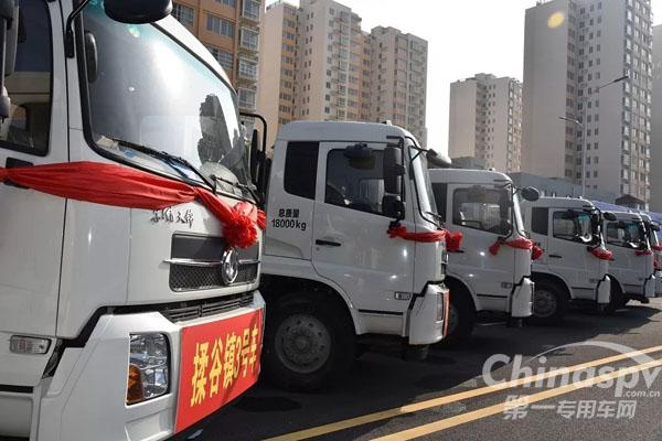 16辆中联环境压缩式垃圾车顺利交付