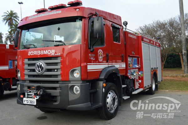 艾里逊提升圣保罗消防局消防车的性能
