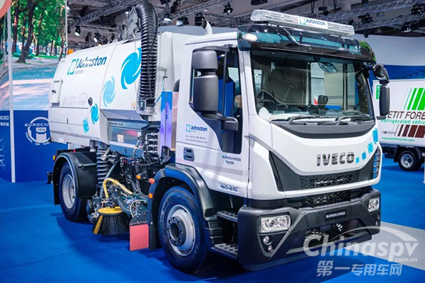 依维柯打造可持续零柴油CNG道路清扫车