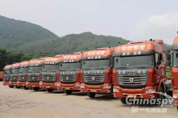 中集联合卡车助力深圳绿色港口建设