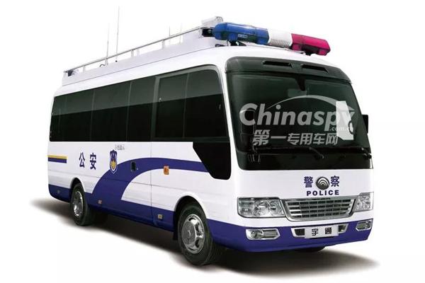 承载光荣使命 5款宇通警用特种车亮相北京