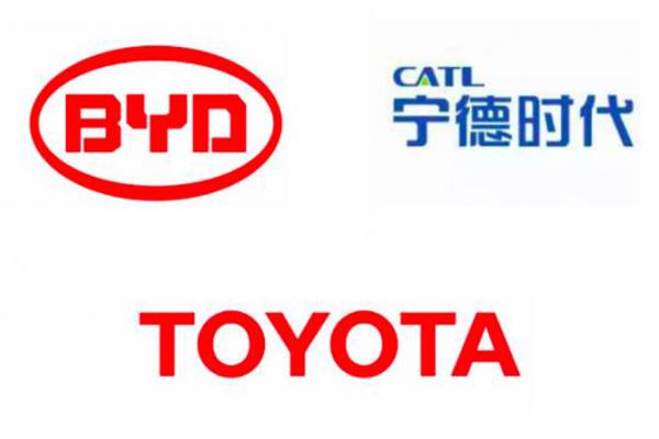 丰田向宁德时代、比亚迪提出电池合作