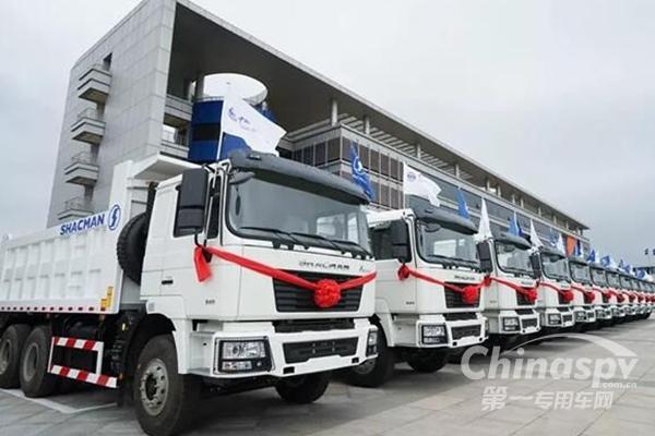 陕汽再次批量出口 今年出口订单已超16000辆