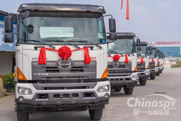 广汽日野混凝土搅拌运输车发力粤西市场