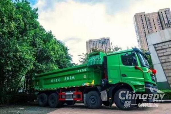 北奔V3渣土车在浙江宁波全新发布