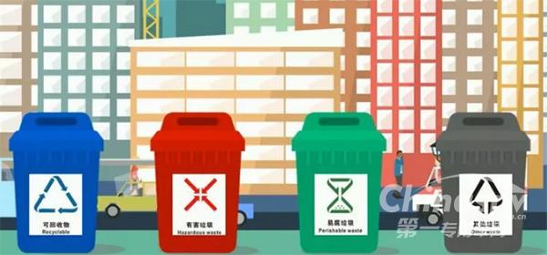 首部城镇生活垃圾分类标准实施