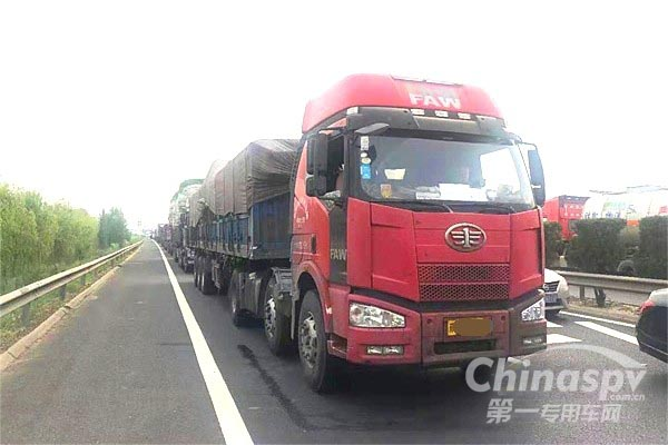 2019年12月1日起山东临沂禁止超载货车上高速