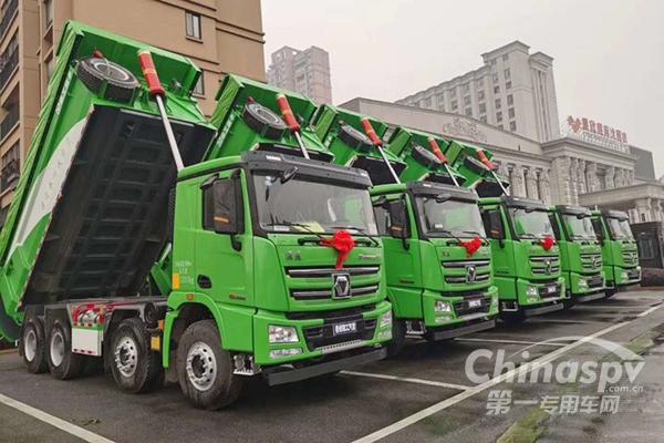 36台漢風G7环保渣土车极速交付