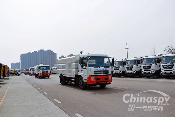 2000万徐工环卫装备批量发往广东