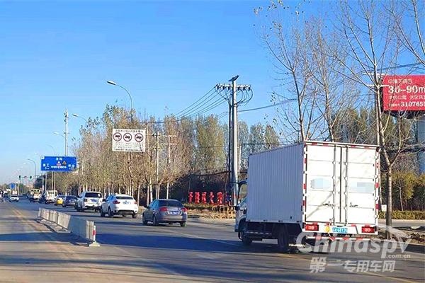 上海浦东开展大型货车交通违法集中整治