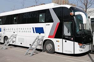 金龙核酸检测车交付福建、宁夏 增补当地移动核酸检测能力