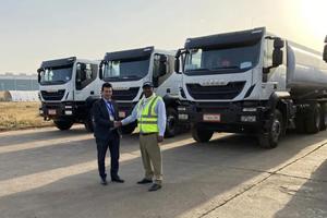 依维柯向埃塞俄比亚菲贝拉公司交付160辆Trakker系列卡车