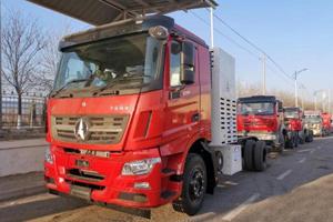 北奔重汽和上海交大共同研发 内蒙古首台100KW级氢燃料电池环卫车下线