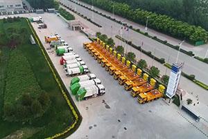 国六版图再下一城 领航专用车联合天津扫地王交付30台防撞缓冲车