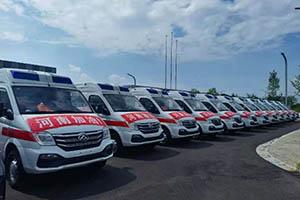跋涉千里 40辆上汽大通MAXUS应急救援车抵豫