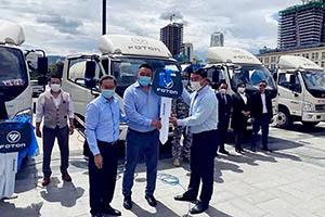 25台福田环卫车将用于蒙古首都九个城区垃圾清运工作